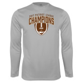 Syntrel Performance Platinum Longsleeve Shirt-2017 Patriot League Football Champions 2