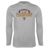 Performance Platinum Longsleeve Shirt-2017 Patriot League Football Champions 4