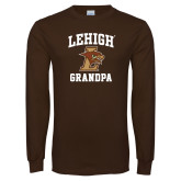 Brown Long Sleeve TShirt-Grandpa