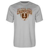 Syntrel Performance Platinum Tee-2017 Patriot League Football Champions 2