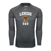 Under Armour Carbon Heather Long Sleeve Tech Tee-Dad