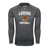 Under Armour Carbon Heather Long Sleeve Tech Tee-Football