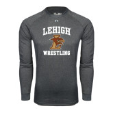 Under Armour Carbon Heather Long Sleeve Tech Tee-Wrestling