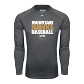 Under Armour Carbon Heather Long Sleeve Tech Tee-Mountain Hawks Baseball