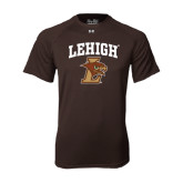 Under Armour Brown Tech Tee-Official Logo