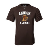 Under Armour Brown Tech Tee-Alumni