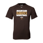 Under Armour Brown Tech Tee-Mountain Hawks Basketball