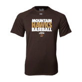 Under Armour Brown Tech Tee-Mountain Hawks Baseball
