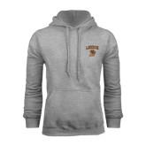 Grey Fleece Hoodie-Official Logo