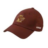Brown Heavyweight Twill Pro Style Hat-L Hawk