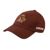 Brown Twill Unstructured Low Profile Hat-L Hawk