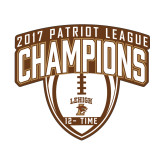 Small Magnet-2017 Patriot League Football Champions