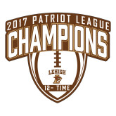Large Magnet-2017 Patriot League Football Champions