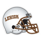 Football Helmet Magnet-Arched Lehigh