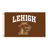 3 ft x 5 ft Flag-Lehigh Arched