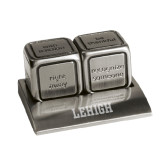 Icon Action Dice-Flat Lehigh Engraved