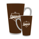 Full Color Latte Mug 17oz-2017 Patriot League Softball Champions