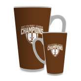 Full Color Latte Mug 17oz-2017 Patriot League Football Champions