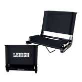 Stadium Chair Black-Flat Lehigh