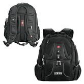 Wenger Swiss Army Mega Black Compu Backpack-Flat Lehigh