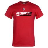 Red T Shirt-#FlightOn