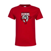 Youth Red T Shirt-Primary Logo