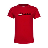 Youth Red T Shirt-Lewis Track & Field