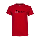 Youth Red T Shirt-Lewis Cross Country
