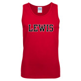Red Tank Top-Lewis