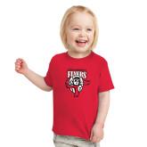 Toddler Red T Shirt-Primary Logo