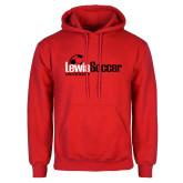 Red Fleece Hoodie-Lewis Soccer
