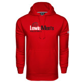 Under Armour Red Performance Sweats Team Hoodie-Mens Volleyball