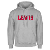 Grey Fleece Hoodie-Lewis