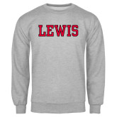 Grey Fleece Crew-Lewis
