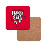 Hardboard Coaster w/Cork Backing-Primary Logo
