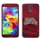Galaxy S5 Skin-Primary Mark, Background PMS 202 Maroon