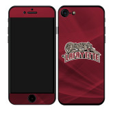 iPhone 7/8 Skin-Primary Mark, Background PMS 202 Maroon