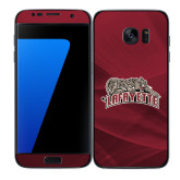 Samsung Galaxy S7 Edge Skin-Primary Mark, Background PMS 202 Maroon