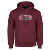 Maroon Fleece Hoodie-Cross Country