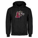 Black Fleece Hoodie-Mascot with L
