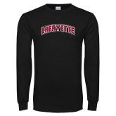 Black Long Sleeve T Shirt-Arched Lafayette