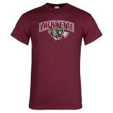 Maroon T Shirt-Secondary Mark