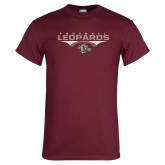 Maroon T Shirt-Leopards Football