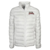 Columbia Lake 22 Ladies White Jacket-Primary Mark