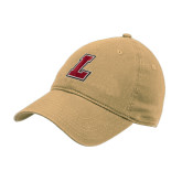 Vegas Gold Twill Unstructured Low Profile Hat-L