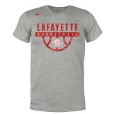 "NIKE Dark Heather Grey Legend Tee ""Basketball Locker Room""-"