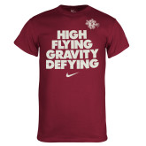 NIKE Team Maroon Core Cotton Tee-