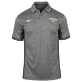 NIKE Anthracite Victory Block Polo ' w/ Leopard Head'-