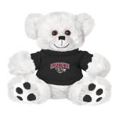 Plush Big Paw 8 1/2 inch White Bear w/Black Shirt-Secondary Mark