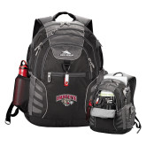 High Sierra Big Wig Black Compu Backpack-Secondary Mark